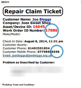 check-repair-status-ticket